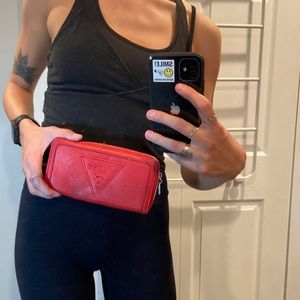 GUESS RED WALLET
